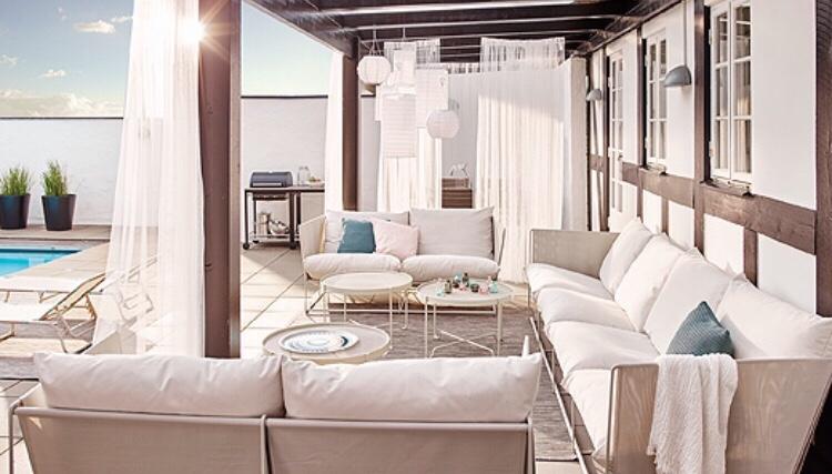 IKEA Havsten utesoffa, loungemöbel