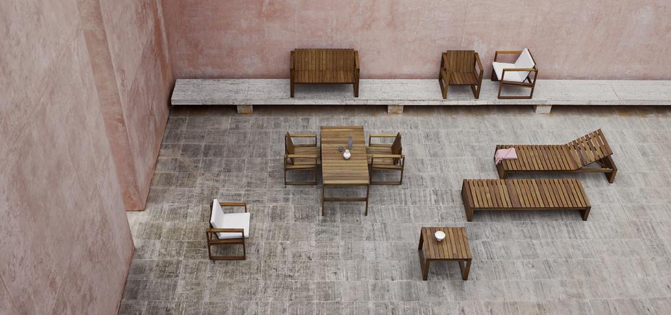Indoor-Outdoor series by Bodil Kjaer, Carl Hansen & Son