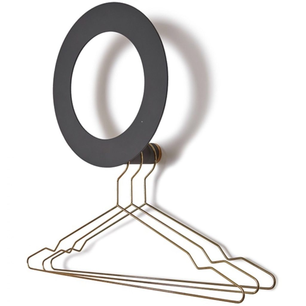 Monokel clothes hanger, from Klong