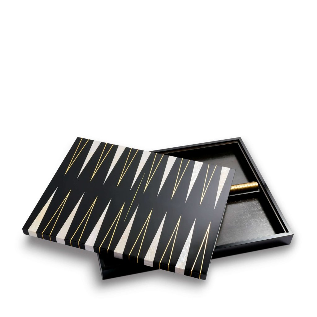 Backgammon set from L'Objet
