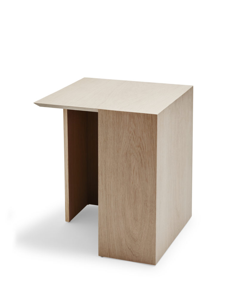 Building side table for Skagerak, by Bicolter, oak