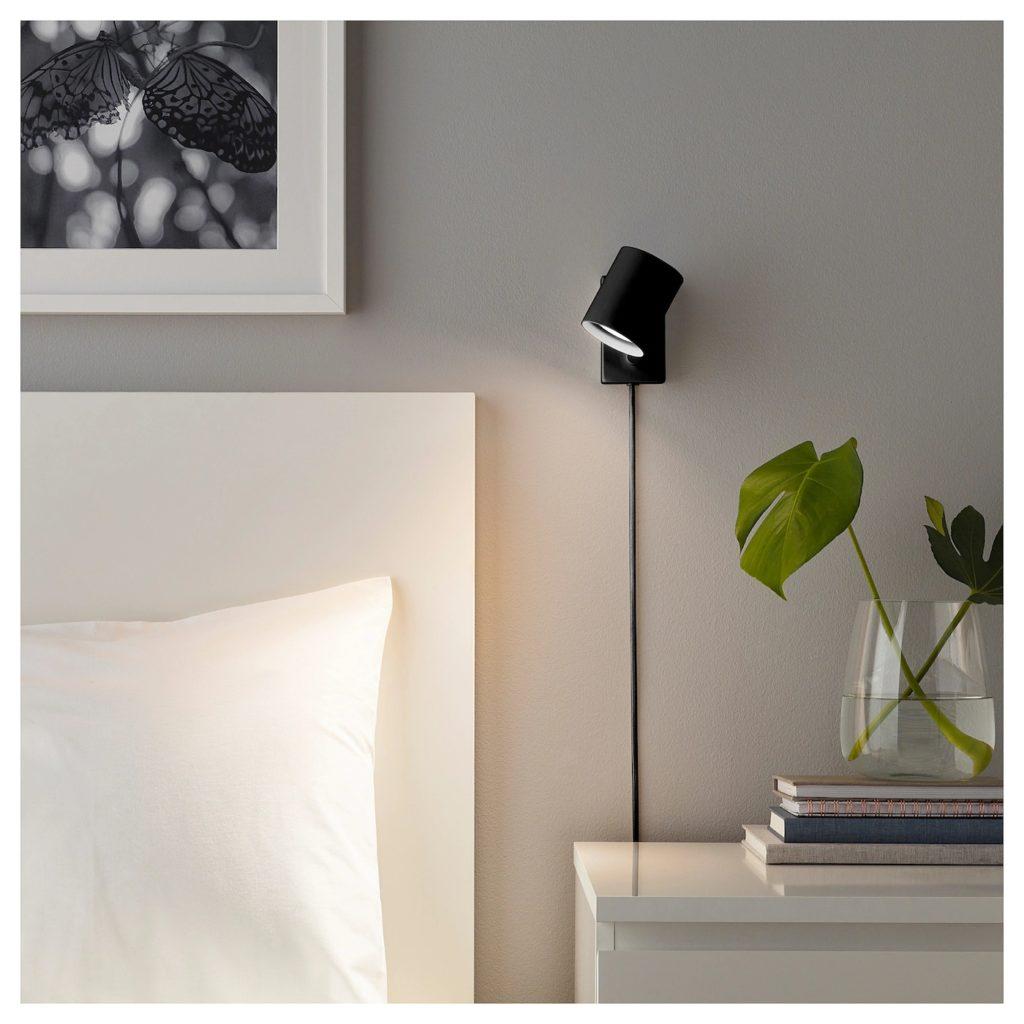 Nymåne, lampa från IKEA