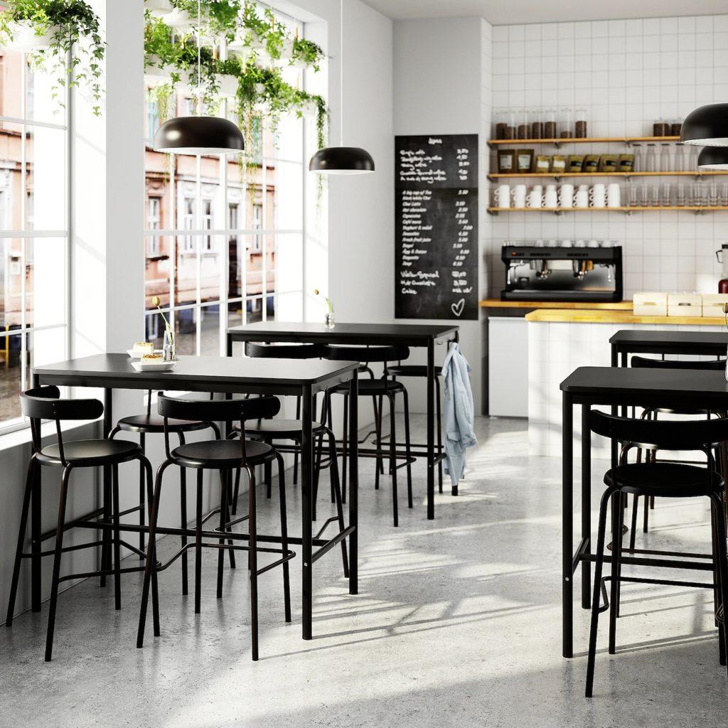 Tommaryd, bord från IKEA, interiörbild