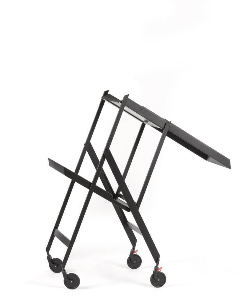 Plico trolley, design by Richard Sapper, for Alessi