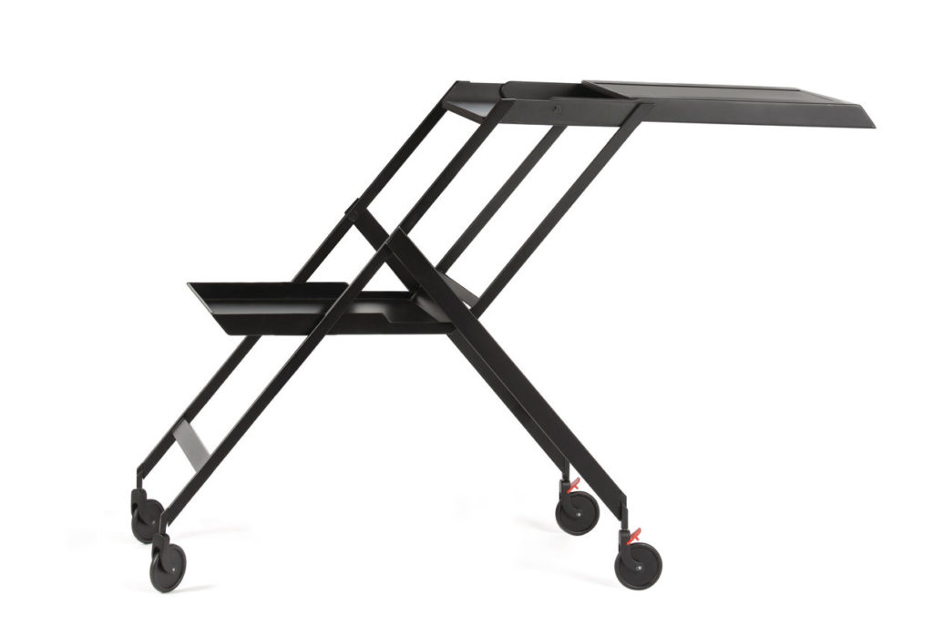 Plico trolley, design by Richard Sapper, for Alessi